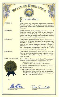 2019 - International Credit Union Day